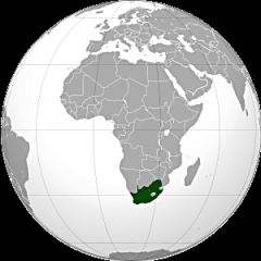 300px-South Africa (orthographic projection).svg